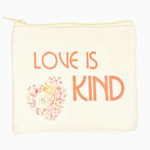 Love Is Kind Makeup Pouch by Ellana