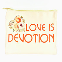 Love Is Devotion Pouch by Ellana