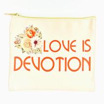 Love Is Devotion Pouch by Ellana