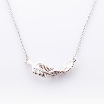 Leaf Necklace by Luxe Studio