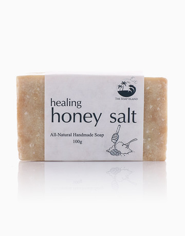 Healing Honey Salt by The Soap Island