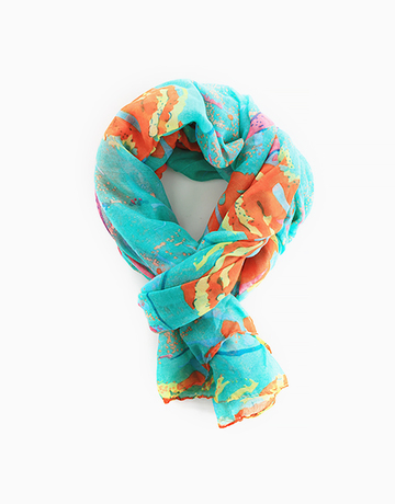 Abstract Scarf by Luxe Studio
