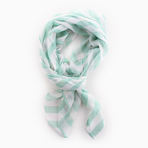 Mint Stripes Scarf by Luxe Studio