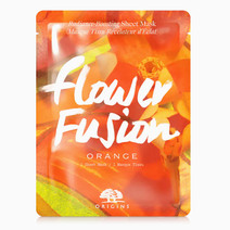 Flower Fusion Orange Radiance-Boosting Sheet Mask by Origins