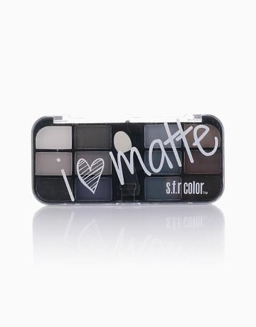 12-Shade Matte Palette by SFR Color