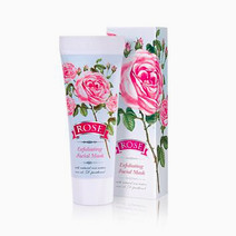 %22rose%22 exfoliating face mask