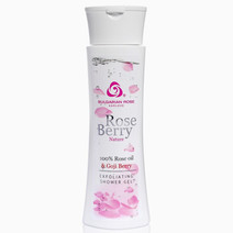 %22roseberry nature%22 exfoliating shower gel