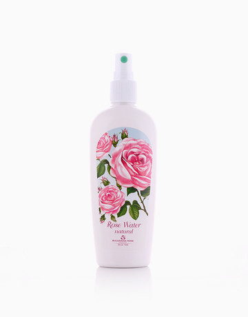 Natural Rose Water With Pump by Bulgarian Rose