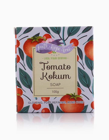 Tomato Kokum Soap by Faith Hope Love Soap