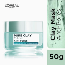 Pure Clay Mask: Anti-Pores (Mint Green) by L'Oreal Paris