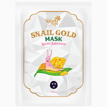 Snail gold mask