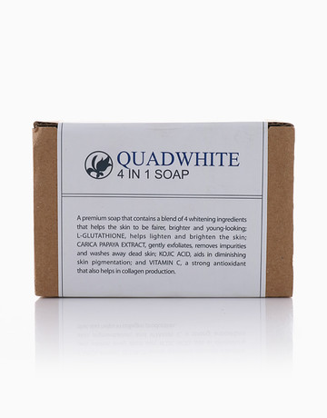Quadwhite 4-in-1 Soap by Bioessence