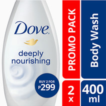 Deeply Nourishing Wash (2) by Dove