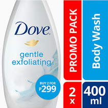 Gentle Exfoliating Wash (2) by Dove