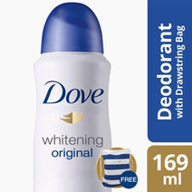 Whitening Spray 169ml + Bag by Dove