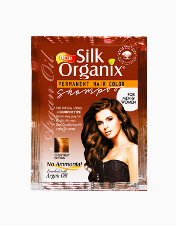 Permanent Color Shampoo by Silk Organix Products | BeautyMNL