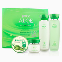 Pure aloe nature fresh skin care 3 type set