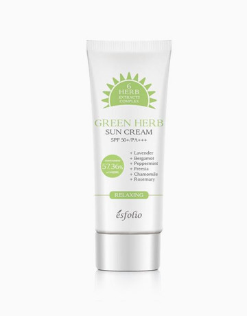 Green Herb Sun Cream by Esfolio
