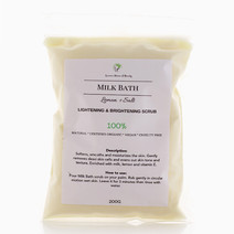Milk Bath Lemon+Salt Lightening and Brightening Scrub by Leiania House of Beauty