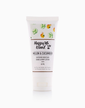 Melon Cucumber Lotion (60ml) by Happy Island Candle Co