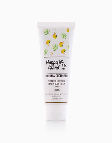 Melon Cucumber Lotion (100ml) by Happy Island