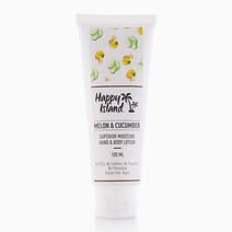 Melon & Cucumber Hand and Body Lotion (100ml) by Happy Island Candle Co