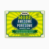 More awesome poresome pore minimizing beauty bar