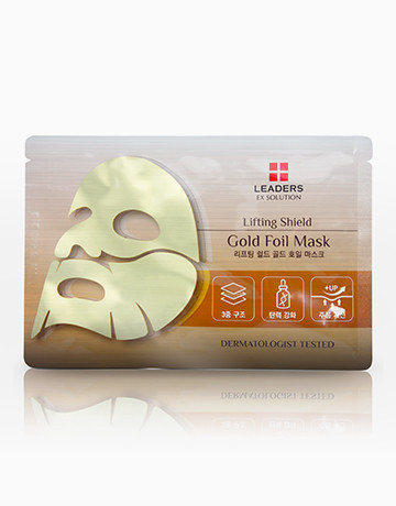 Lifting Shield Gold Foil Mask by Leaders Ex Solution