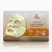 Leaders gold foil mask   lifting shield bg