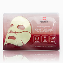 Leaders gold foil mask   soothing shield bg