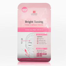 Leaders mild cotton mask   bright toning bg