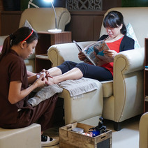 The Naked Nail Pedicure by Naked Nail Organic Spa Lounge