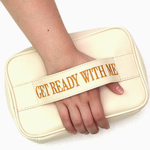 Get Ready With Me Bag (Beige) by BeautyMNL
