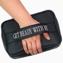 Get Ready With Me Bag (Black) by BeautyMNL