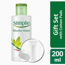 Micellar Water + FREE Cotton by Simple