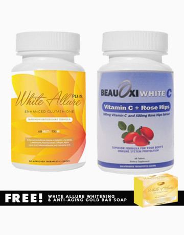 Glutathione + C Combo   by White Allure