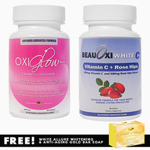 Enhanced glutathione and beauoxi white c vitamin c whitening