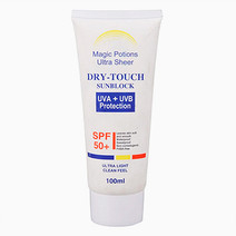 Magic potions ultra sheer dry touch sunblock spf 50