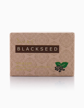 Black Seed Scrub Soap by Davis & G Blackseed Collection