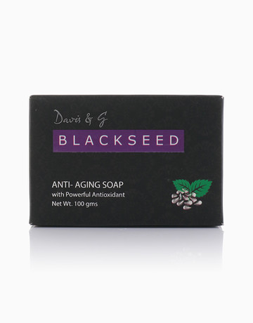 Black Seed Anti-Aging Soap by Davis & G Blackseed Collection