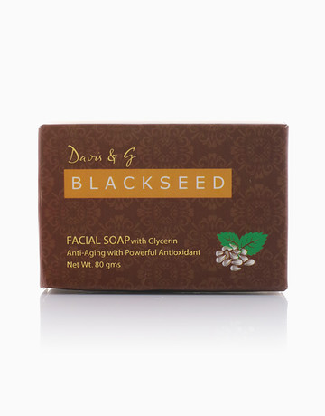 Black Seed Facial Soap by Davis & G Blackseed Collection