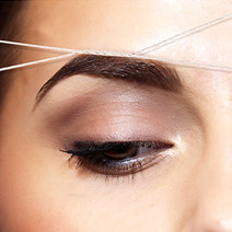 Eyebrow Threading by Flirt Waxing Lounge