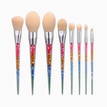 8pc Rainbow Unicorn Brush by Brush Work