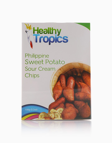 Camote Chips (150g Box) by Healthy Tropics