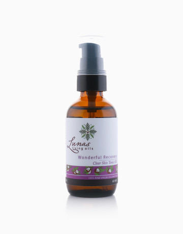 Clear Skin Tonic Oil by Lunas Living Oils