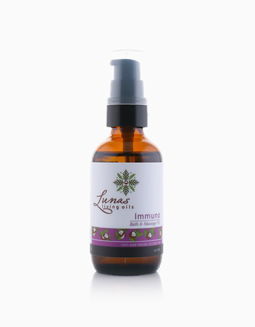 Immuno Bath & Massage Oil by Lunas Living Oils