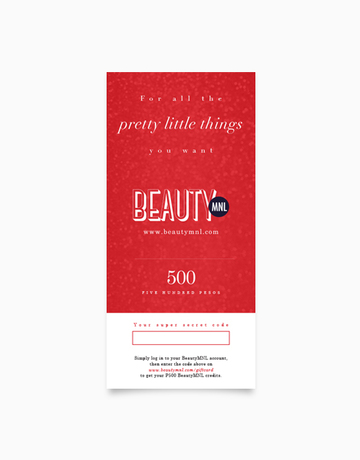 BeautyMNL Gift Card (P500) by BeautyMNL