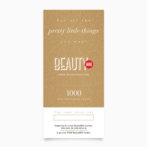 BeautyMNL Gift Card (P1,000) by BeautyMNL