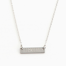 Fearless Card Necklace by Timi
