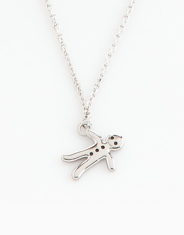 Gingerbread Man Necklace by Timi